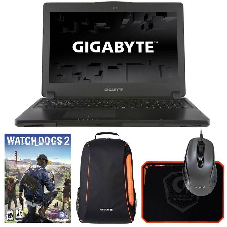 "Gigabyte P35Xv6-PC1 (i7-6700HQ, 32GB RAM, 1TB HDD, NVIDIA GTX 1070 8GB, 15.6"" Full HD, Windows 10) VR Ready Gaming Notebook. Display: 15.6"" Full HD (1920 x 1080) IPS Anti-Glare Display   Graphics Card: NVIDIA® GeForce® GTX 1070 8GB GDDR5 (VR Ready). Processor: 6th Gen Intel® Skylake Core i7-6700HQ Quad Core (2.6GHz-3.5GHz, 6MB Intel® Smart Cache, 45W). RAM: 32GB (2x 16GB) DDR4 2133MHz   Hard Drive: 1TB 7200RPM HDD   Optical Drive: Super Multi DVD RW. OS: Microsoft® Windows 10 Home  ..."