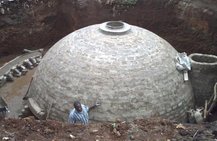 biodigester dome