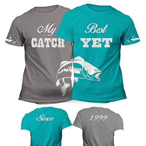 Matching Couples Shirts My Best Catch Yet Fishing With Cu... https://www.amazon.com/dp/B01M28QI4T/ref=cm_sw_r_pi_dp_x_DciiybJR9R9RS