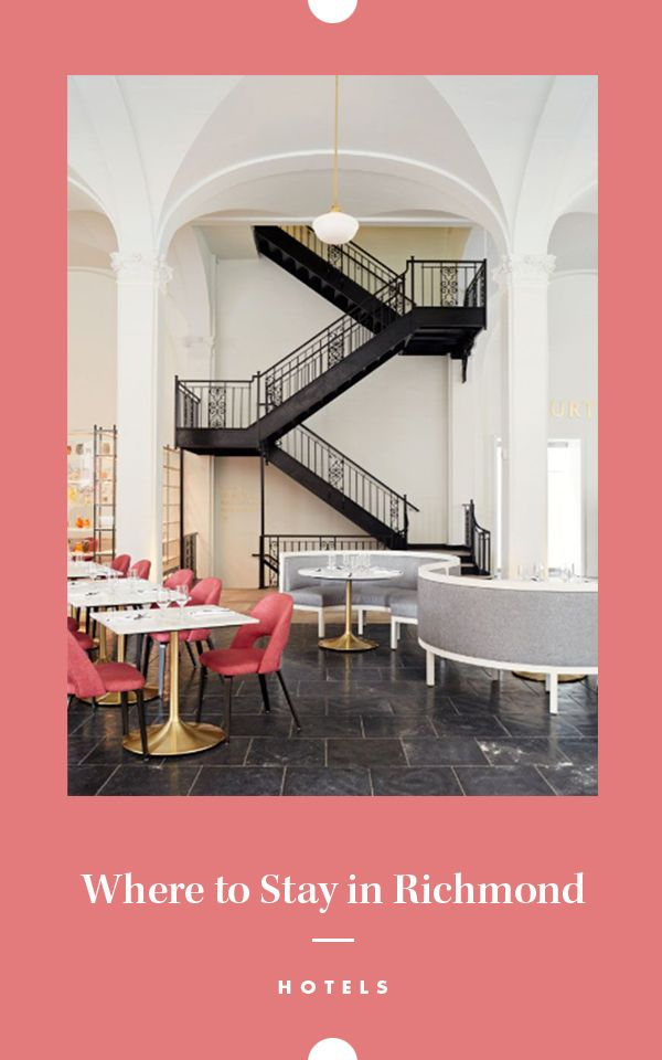Cute Place to Stay in Richmond - Quirk Hotel / #sponsored