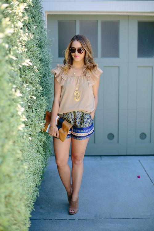 @Julia Engel in her statement sweet & spark vintage tassel statement necklace! #jewelry  http://www.sweetandspark.com