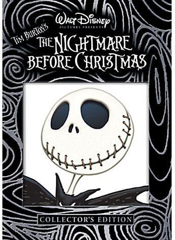 Tim Burton's The Nightmare Before Christmas DVD
