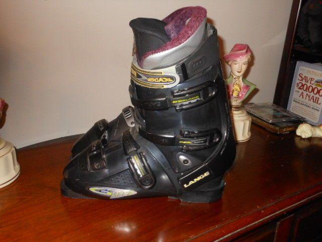 Lange GMax 7 Ski Boots 28.5 or US 10.5 Impulse Response System Very Good Cond. #Lange