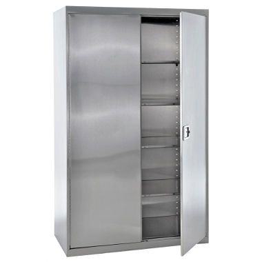 Awesome Stainless Steel Wardrobe Cabinet
