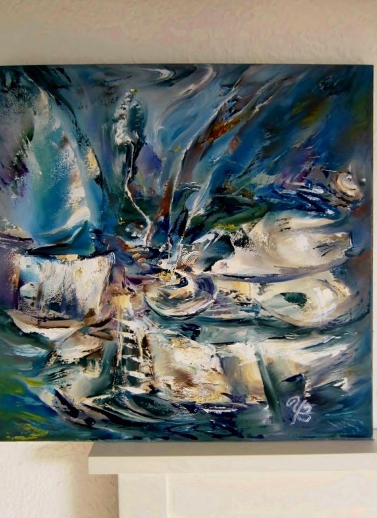 Tornado. Oil on canvas 40x40. | Artpopuli