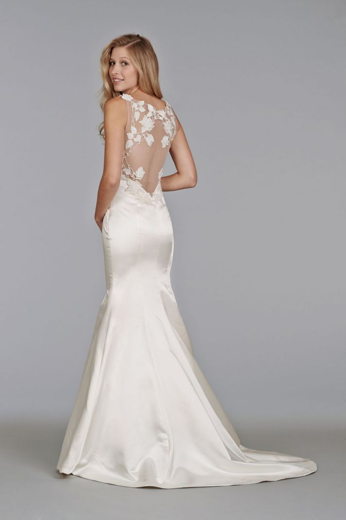 35 Best Statement Back Wedding Gowns of 2014 | OneWed
