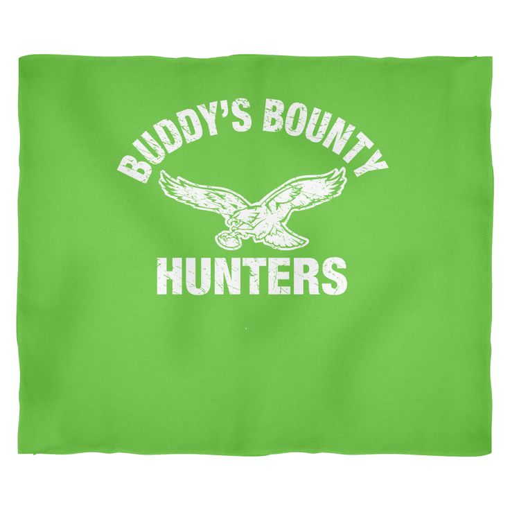 Buddy's Bounty Hunters Fleece Medium Blanket