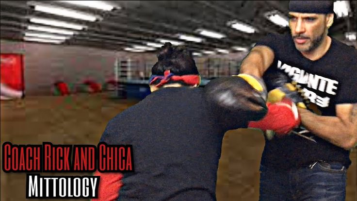Advanced Boxing Techniques Slipping Countering Stop-Hit - Coach Rick's Mittology - YouTube