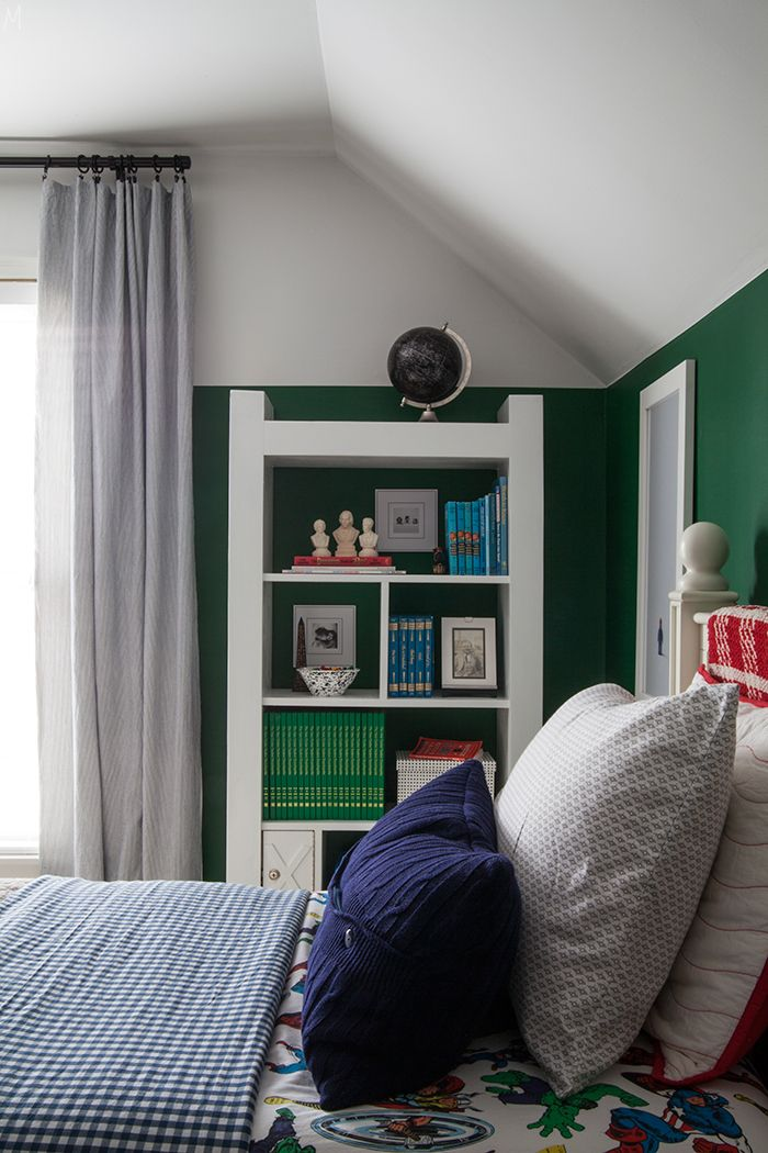 A Boy's Bookcase and How to Style it Practically - The Makerista