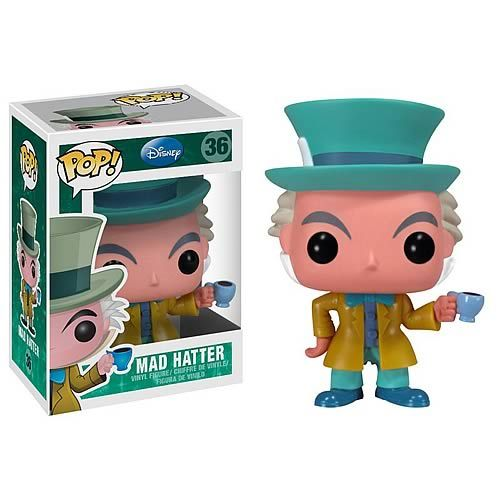 Alice in Wonderland Mad Hatter Disney Pop! Vinyl Figure  http://www.entertainmentearth.com/prodinfo.asp?number=FU2549=LY-012045602
