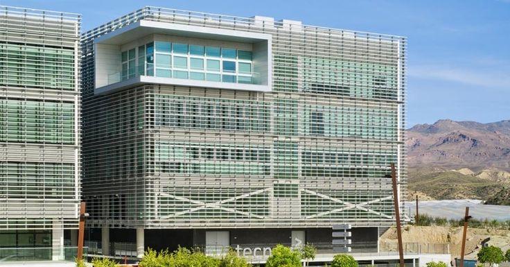 Exterior oficina moderno edificios via planreforma for Exterior oficinas