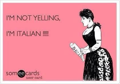 omgosh! hubby! Need to make this meme with a man! lol! I'm not yelling.  I'm Italian!!!