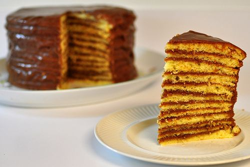 Boiled Icing Chocolate Layer Cake...in fine southern tradition