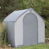 Found it at Wayfair - StorageHouse 6 Ft. W x 6 Ft. D Plastic Portable Shed