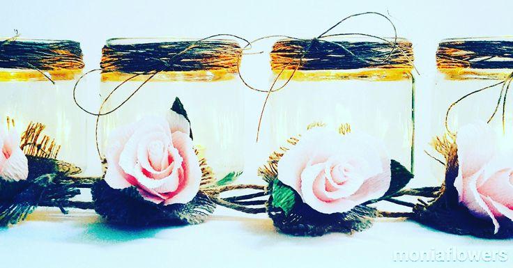 Candle holders jards ❤  etsy.com/shop/moniaflowers