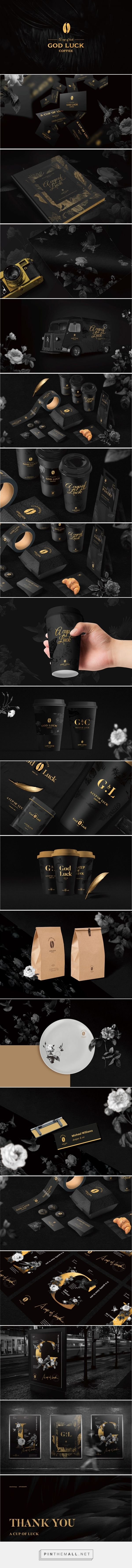 A Cup of Luck Coffee Branding and Packaging by Jem Wong | Fivestar Branding Agency – Design and Branding Agency & Curated Inspiration Gallery