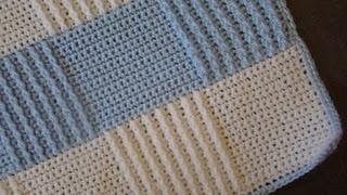 Free Crochet Baby Blanket Pattern.