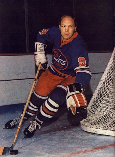 Bobby Hull of the Winnipeg Jets