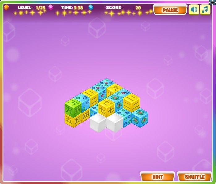 Mahjong- Cubes