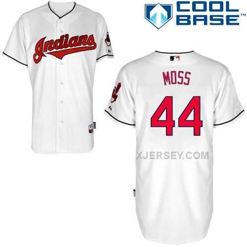http://www.xjersey.com/indians-44-moss-white-cool-base-jerseys.html INDIANS 44 MOSS WHITE COOL BASE JERSEYS Only $43.00 , Free Shipping!
