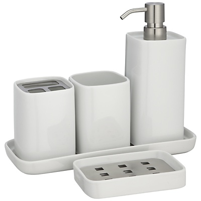 House by john lewis bento porcelain bathroom accessories luxury bathroom accessories John lewis bathroom design and fitting