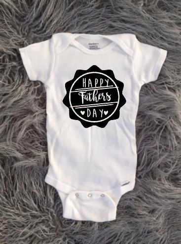 Baby and Toddler First Fathers Day Shirt, Happy Fathers Day, New Fathers Day, Baby and Daddy, Father and Son, SALE, Fathers Day Shirt by KyCaliDesign on Etsy