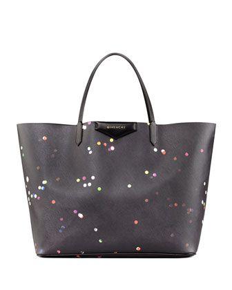 Antigona+Large+Confetti-Print+Shopper+Bag+by+Givenchy+at+Bergdorf+Goodman.