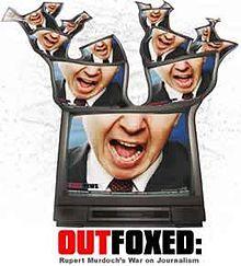 Outfoxed: Rupert Murdoch's War on Journalism (2004) directed by Robert Greenwald. IMDB: http://www.imdb.com/title/tt0418038/