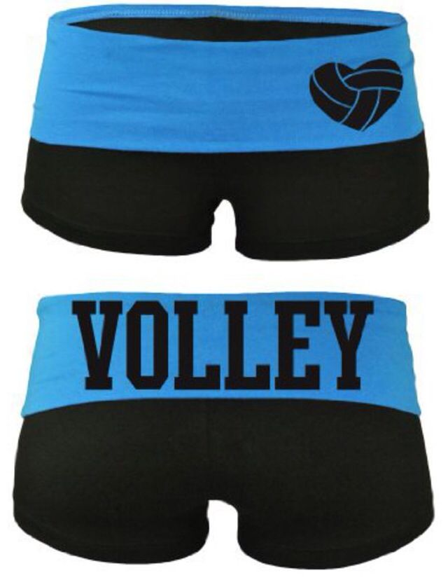 Volleyball Yoga Shorts