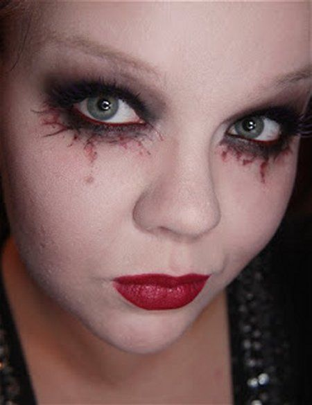 child vampire makeup - Google Search