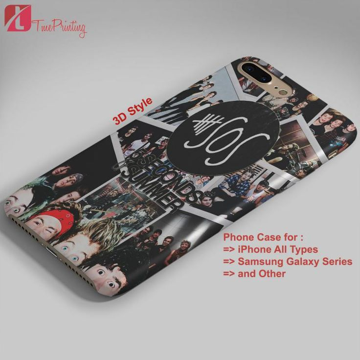 Collage 5SOS 5 seconds of summer 5SOS - Personalized iPhone 7 Case, iPhone 6/6S Plus, 5 5S SE, 7S Plus, Samsung Galaxy S5 S6 S7 S8 Case, and Other