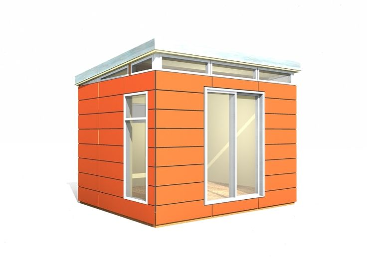 Shed homes a collection of ideas to try about other for Backyard office kit