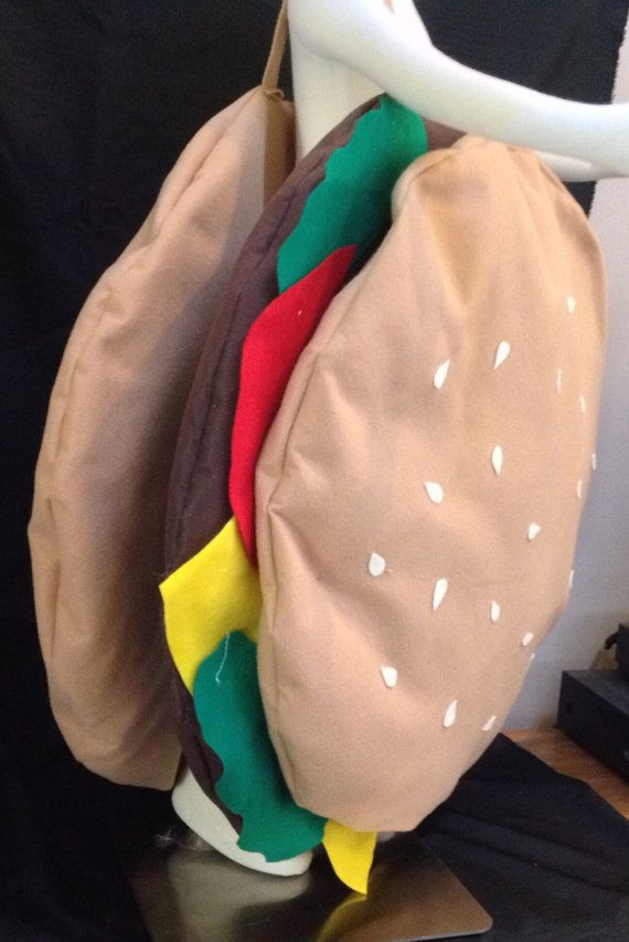 Hamburger costume infant costume kids by LollipopLucyCostumes