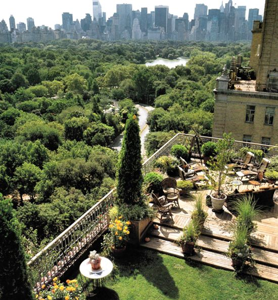 New York Fabulous Rooftop Patio.