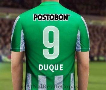 El numero que lucirá Duque en su regreso a las canchas #9!  #FuerzaDuque.