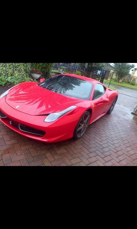 Ferrari in my yard