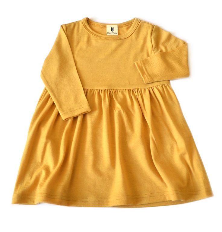 Gorgeous Little Miss Dress for babies and toddlers. 100% merino - handmade in New Zealand. www.bridgetyork.com