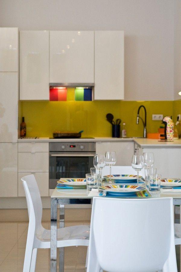 15 Kitchen Interior   Flamboyant & Imaginative Apartment   Tags : apartotel flamboyant apartments, flamboyant apartment tobago, flamboyant apartments curacao, flamboyant apartments dominica, flamboyant apartments grenada