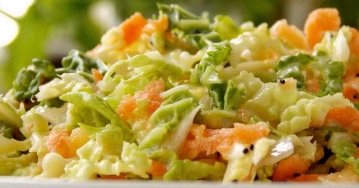 К шашлыку или рыбе: традиционный американский салат «Коул слоу»