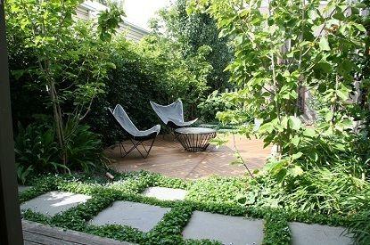 Ben scott garden design melbourne portfolio maitland st for Courtyard landscaping melbourne