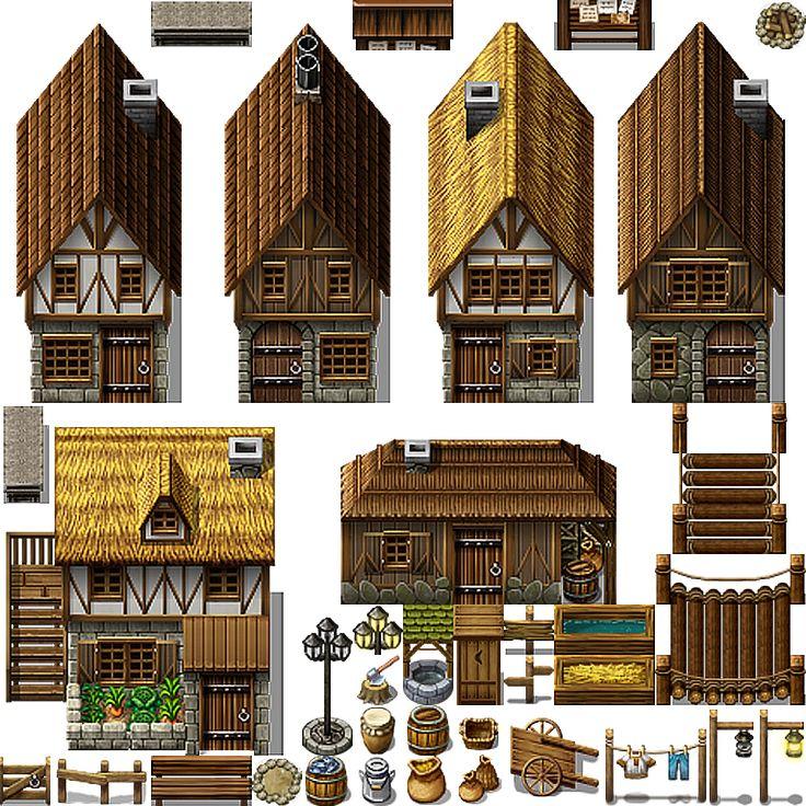 Rpg Maker Mv Castle Town Tileset