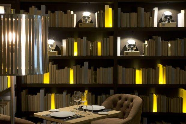 Restaurante Otto, criado por Rosauro Varo - Madrid, Espanha - detalhes