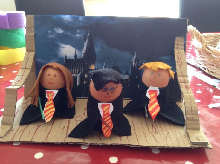 Harry Potter egg school competition