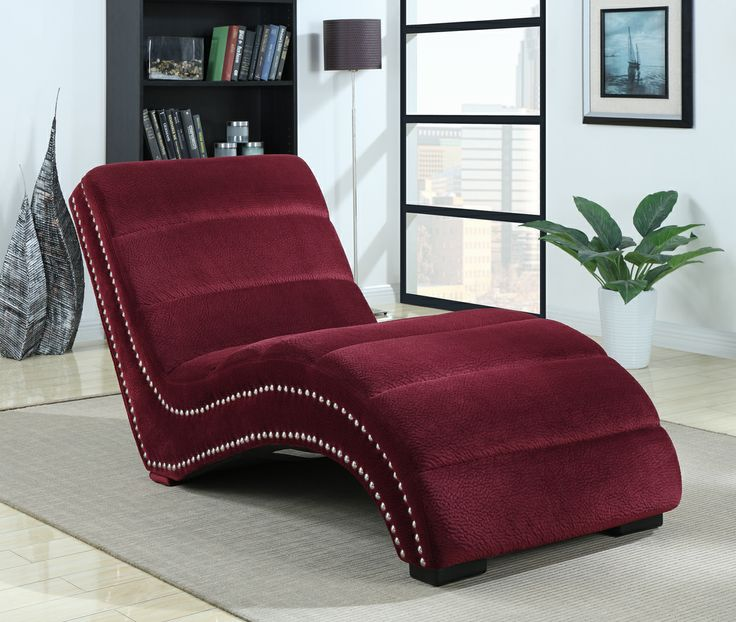 IRaven Chaise   Berry
