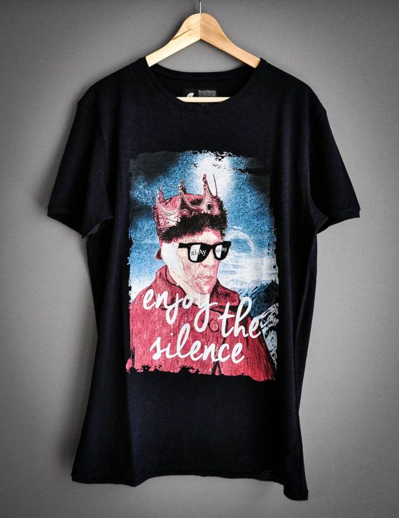 Enjoy the Silence by PlayShirts on Etsy #play_shirts #playshirts #tshirts #depechemode #dm #vangogh #enjoy_the_silence #famouspaintings #mashup #popart