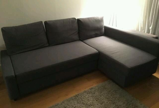 Grey Corner Sofa bed. Excellent condition. Only £350. *Delivery available* on Gumtree. Corner Sofa Bed with storage space. Beautiful Grey colour. Comes from smoke ans pet free home.