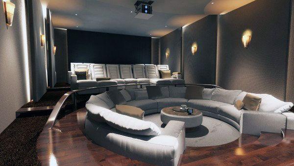 80 Home Theater Design Ideas For Men Movie Room Retreats Home
