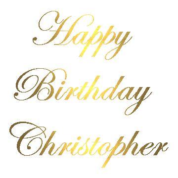 Christopher Birthday Cake Funny