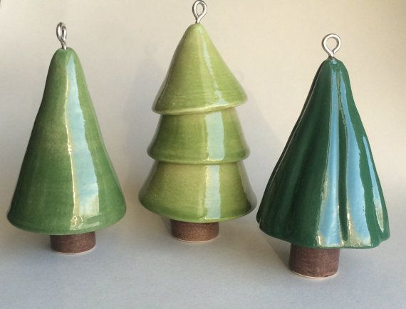 Christmas ornament set by artcrafthome on Etsy