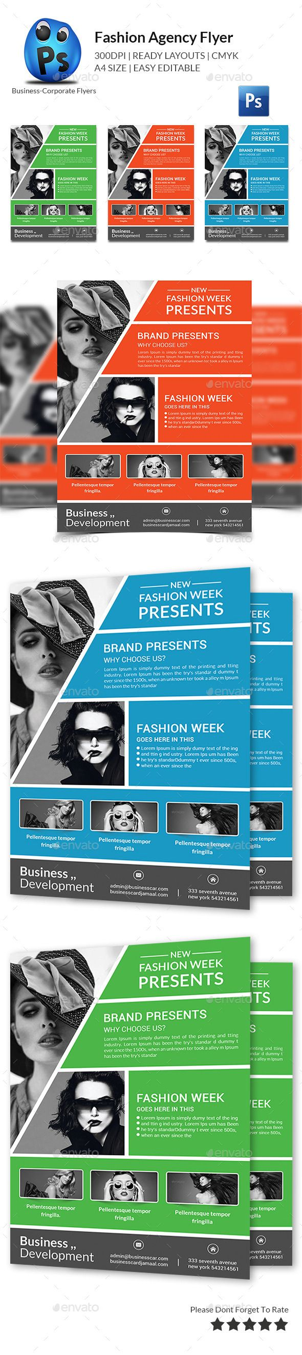 Fashion Agency Flyer Print Templates — Photoshop PSD #model hunt #artist • Available here → https://graphicriver.net/item/fashion-agency-flyer-print-templates/11974100?ref=pxcr